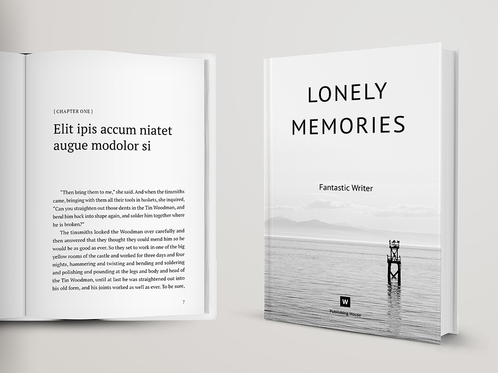 Poetry Book Cover Template Free ~ Novel and poetry book template themzy templates