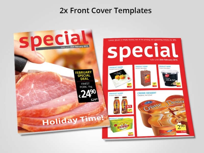 sales catalog template - sale catalogue template for shops drag and drop